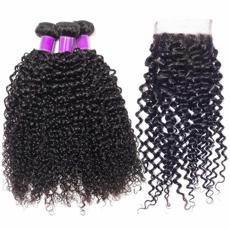 9a Katy Hair Peruvian Human Hair Weave Virgin Hair Curly 4pcs Lot 8 30
